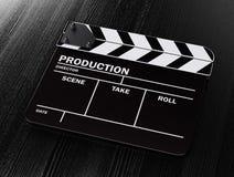 电影拍板 向量例证