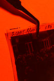 电影摄影术的概念电影工业卷轴 库存图片