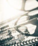 电影摄影术的概念电影工业卷轴 免版税库存图片