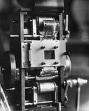 电影放映机特写镜头(所有人被描述不更长生存,并且庄园不存在 供应商保单那里将b 免版税库存图片