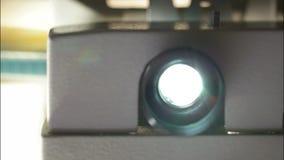 电影放映机透镜 股票录像