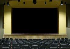 电影阶段剧院 免版税库存图片