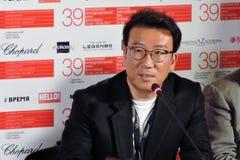 电影Youn Je Kuoyn导演和生产商 图库摄影