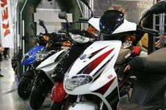 电摩托车马达omaks滑行车 免版税图库摄影