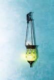 电明亮的灯的装饰 免版税库存图片
