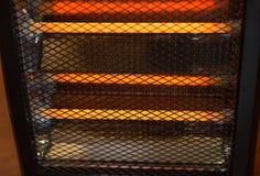 电暖气工作 图库摄影