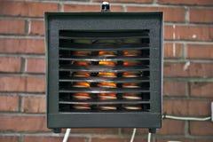 电暖气 库存照片