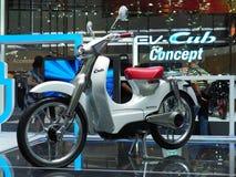 电本田EV Cub 免版税图库摄影