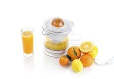 电柑橘榨汁器 免版税库存图片