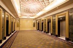 电梯大厅 库存照片