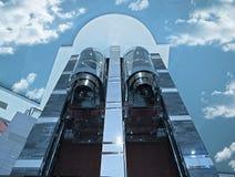电梯天空 免版税图库摄影