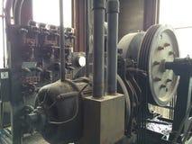 电梯机械 免版税库存图片
