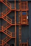 电梯楼梯 免版税库存照片