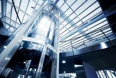 电梯玻璃 免版税库存图片