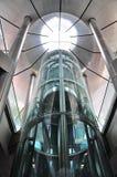 电梯玻璃 免版税库存照片