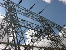 电水力发电 库存照片