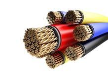 电汇架线的电汇 免版税库存图片