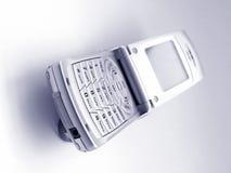 电池充分的电话 免版税图库摄影