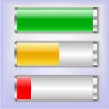 电池充电状态传染媒介例证 向量例证