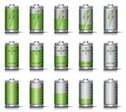 给电池充电 免版税库存图片