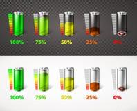 电池充电 免版税库存图片