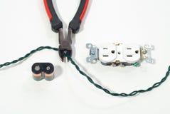 电池出口电汇 免版税图库摄影