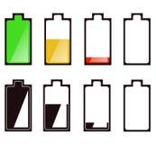 电池功率 库存照片