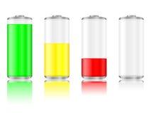电池反映 向量例证