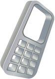 电池图标电话 免版税库存图片