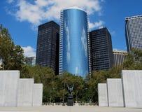 电池城市新的公园约克 免版税图库摄影