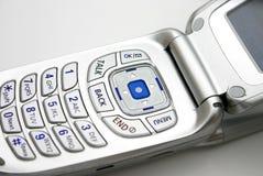 电池接近的电话 库存照片