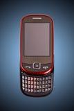 电池模型新的电话 免版税库存图片
