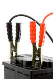 电池汽车上涨起始时间 免版税库存图片