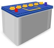 电池汽车 免版税库存照片