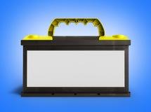 电池电池累加器汽车汽车零件用电供应 免版税库存照片