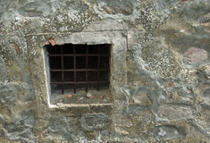 电池监狱视窗 库存图片