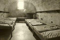 电池老监狱 库存图片