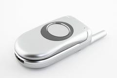 电池蛤壳状机件闭合的电话 免版税库存照片