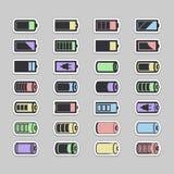 电池象 免版税库存照片