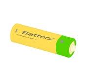 电池-传染媒介例证 免版税图库摄影