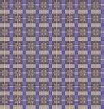 电池绿色模式无缝的向量 紫色和灰棕色 免版税库存照片