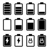 电池黑象 免版税库存图片