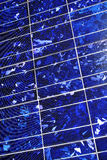 电池hightech太阳技术 免版税库存图片