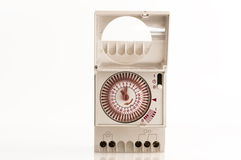 电流的定时器 免版税库存照片