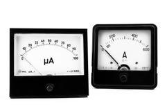 电测量设备 免版税库存照片