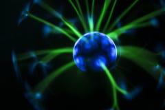 电火球 电波抽象照片  图库摄影