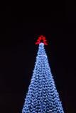 电灯泡五颜六色的光 图库摄影