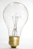 电灯泡亮光 免版税库存照片