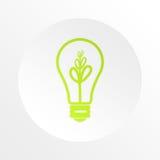 电灯泡企业想法信息 免版税库存照片