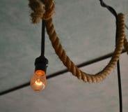 电灯泡停止 免版税图库摄影